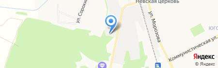 Авто-Инфо на карте Сыктывкара
