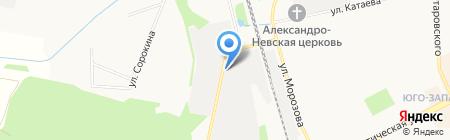 Nord-Auto на карте Сыктывкара