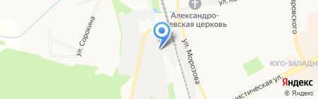 ЗаЖД на карте Сыктывкара
