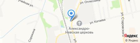 ВелКом на карте Сыктывкара