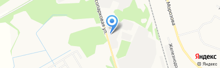 Новострой на карте Сыктывкара