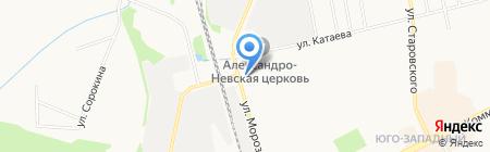 Детский сад №57 на карте Сыктывкара