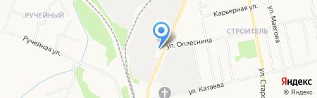 АВТОЗАРЯД на карте Сыктывкара