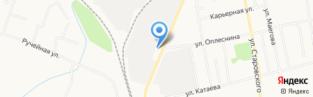 Duck на карте Сыктывкара