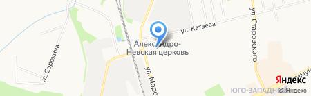 Прайм-Клининг на карте Сыктывкара