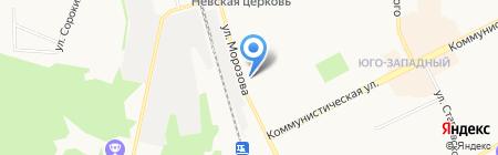 Бюро транспортных услуг Республики Коми на карте Сыктывкара