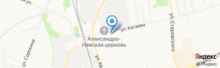 СДЮСШОР на карте Сыктывкара