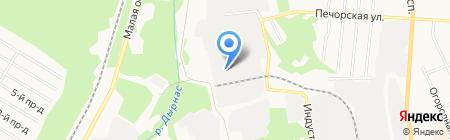 Пекарня на карте Сыктывкара
