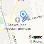 Спорт-центр инвалидов на карте Сыктывкара