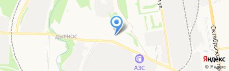 Максим на карте Сыктывкара