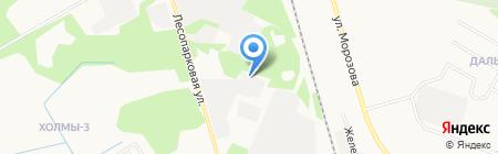 Автотранс на карте Сыктывкара