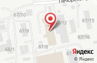 Схема проезда до компании Технология в Сыктывкаре