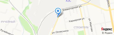 Авторитет магазин автозапчастей для ГАЗ ПАЗ на карте Сыктывкара