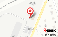Схема проезда до компании Энертеп в Сыктывкаре
