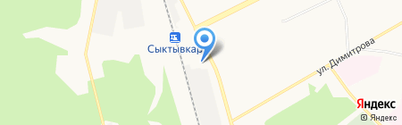 Человек и Закон на карте Сыктывкара