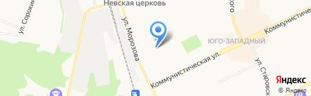 Клинико-лабораторный центр на карте Сыктывкара