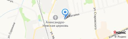 Сыктывкарский политехнический техникум на карте Сыктывкара