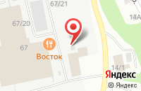 Схема проезда до компании Оконная компания в Сыктывкаре