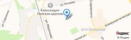 Дошколёнок на карте Сыктывкара