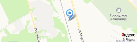 Салон-магазин оптики на карте Сыктывкара