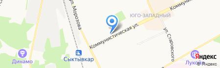 Ассоль и Грей на карте Сыктывкара