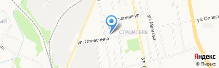 Коммунистический на карте Сыктывкара