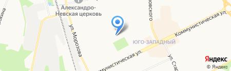 Средняя общеобразовательная школа №38 на карте Сыктывкара