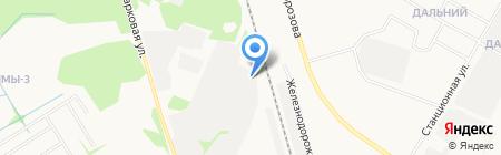 Копинцу А.Э. на карте Сыктывкара