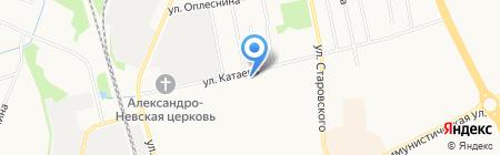 СГА на карте Сыктывкара