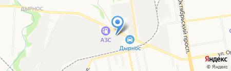 Монтажная фирма на карте Сыктывкара