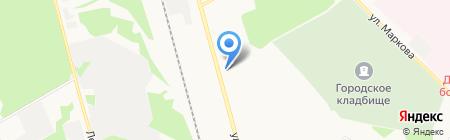 Продуктовый магазин на карте Сыктывкара