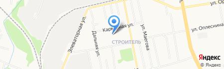 Строитель-2 на карте Сыктывкара