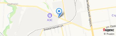 Автозапчасти на карте Сыктывкара