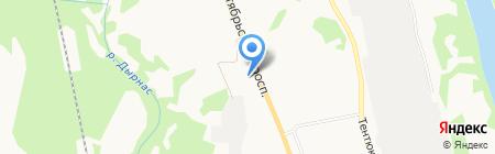 1 отряд ФПС по Республике Коми на карте Сыктывкара