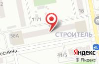 Схема проезда до компании Адепт + в Сыктывкаре
