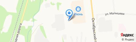 Профиль на карте Сыктывкара