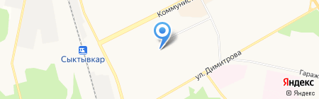 Stereo на карте Сыктывкара