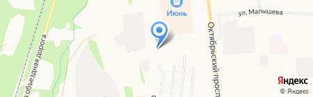 СТЕКЛО-М на карте Сыктывкара