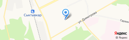 ALEX 777 на карте Сыктывкара