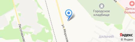 Театр мод на карте Сыктывкара