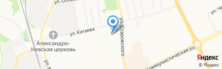 COMPONENT на карте Сыктывкара
