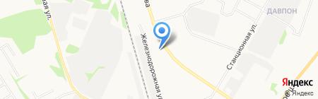 Ле-Тир на карте Сыктывкара