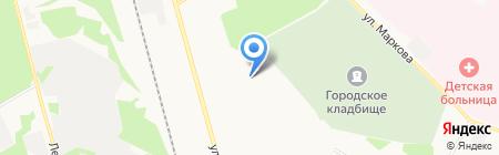 ТриМ на карте Сыктывкара