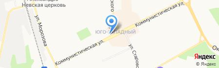 Киоск по продаже печатной продукции на карте Сыктывкара