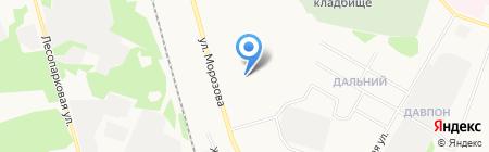 Сервис–Жилье на карте Сыктывкара