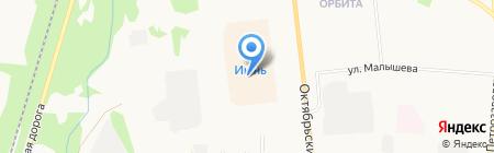 NYX на карте Сыктывкара
