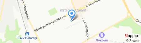 Уют на карте Сыктывкара