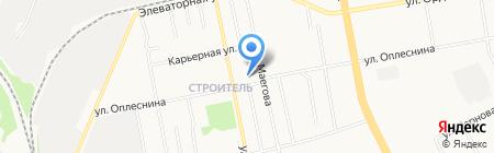 Почтовое отделение №16 на карте Сыктывкара