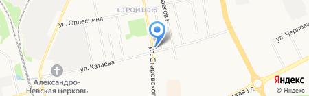 Мария на карте Сыктывкара