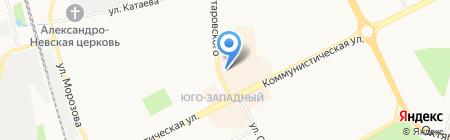 ВООБРАЖУЛЯ на карте Сыктывкара